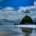 Haystack Rock Iv by David Patterson