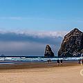 Haystack Rock by Robert Bales