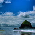 Haystack Rock V by David Patterson