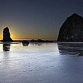 Haystack Rocks And The Needles At Cannon Beach by Jit Lim
