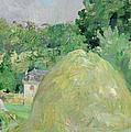 Haystacks At Bougival by Berthe Morisot
