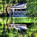 Haywood Cc Grist Mill by Craig Burgwardt