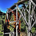Haywood Cc Grist Mill Wheel by Craig Burgwardt