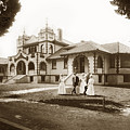 Hazel Hawkins Hospital Monterey Street Hollister California Circa 1907 by California Views Archives Mr Pat Hathaway Archives