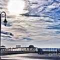 Hdr Beachtown Beach Ocean Sand Pier Sunrise Clouds Relaxation Photography Photos Sale Gallery Buy  by Pictures HDR