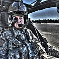 Hdr Image Of A Pilot Equipped by Terry Moore