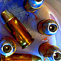 Bullet Art - Hdr Photography Of .32 Caliber Hollow Point Bullets Art 4 by Lesa Fine