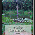 He Leads Me Beside The Still Waters by Debbie Portwood
