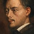 Head Of A Man by Edgar Degas