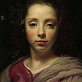 Head Of A Young Girl by Jacob van Oost the Elder