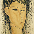 Head of a Young Women by Amedeo Modigliani