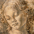 Head Of An Angel by Andrea del Verrocchio