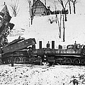 Head On Train Wreck by Underwood Archives