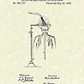 Head Washer 1887 Patent Art by Prior Art Design