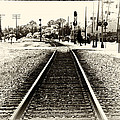 Railroad - Tracks - Heading East by Barry Jones