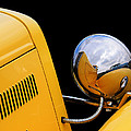 Headlight Reflections In A 32 Ford Deuce Coupe by Gill Billington