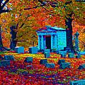 Headstone Fall by Joseph Wiegand