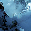 Headwall Mount Blanc by Frank Wilson