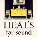 Heals Sound Furniture Advertisement by