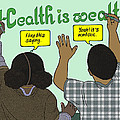 Health Is Wealth by Emory Douglas