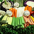 Healthy Veggie Snack Platter - 5d20688 by Wingsdomain Art and Photography