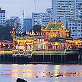 Hean Boo Thean Temple At Blue Hour by Jit Lim