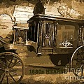 Hearse Poster by Crystal Loppie
