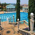 Hearst Castle Neptune Pool by Inge Johnsson