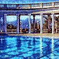 Hearst Castle Pool by Kaylee Mason