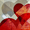 Hearts 8 Square by Edward Fielding