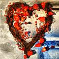 Heart And Flowers by Daliana Pacuraru