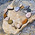 Heart And Stones  by Daliana Pacuraru