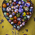 Heart Box Full Of Marbles by Garry Gay