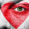 Heart Face by Semmick Photo