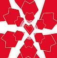 Heart Flower 1 by Kristy Jeppson