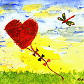Heart Kite by Carolyn Olney