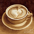Heart Latte II by Hailey E Herrera