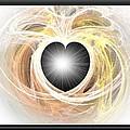 Heart N Soul Fractal by Maria Urso