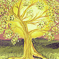 Heart Of Gold Tree By Jrr by First Star Art