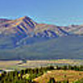 Heart Of The Sawatch Panoramic by Jeremy Rhoades