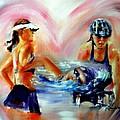 Heart Of The Triathlete by Sandy Ryan