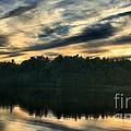 Heart Pond Sunset by Kenny Glotfelty