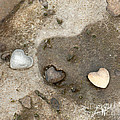 Heart Rock Love by Artist and Photographer Laura Wrede