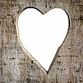 Heart Shape Carved Into A Plank by Dutourdumonde Photography