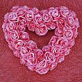 Heart-shaped Floral Arrangement by Darren Greenwood