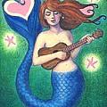 Heart Tail Mermaid by Sue Halstenberg