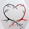 Heart Trees - Arteries Of Love by Marianna Mills