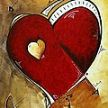 Heartbeat By Madart by Megan Duncanson