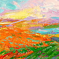 Heartland Series/ Vineyards by Marilyn Hurst