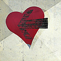 Hearts 7 Square by Edward Fielding